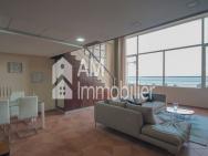 Magnifique appartement duplex vue sur mer à vendre