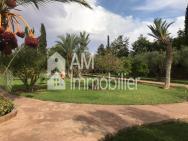 Magnifique villa  à vendre à la palmeraie marrakech