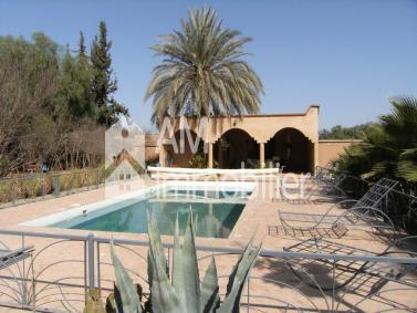 Villa route de Taroudante à vendre
